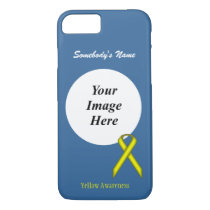 Yellow Standard Ribbon Template by Kenneth Yoncich iPhone 8/7 Case