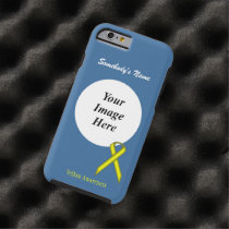 Yellow Standard Ribbon Template by Kenneth Yoncich Tough iPhone 6 Case