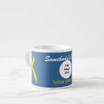 Yellow Standard Ribbon Template by Kenneth Yoncich Espresso Cup