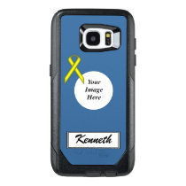 Yellow Standard Ribbon Template by Kenneth Yoncich OtterBox Samsung Galaxy S7 Edge Case