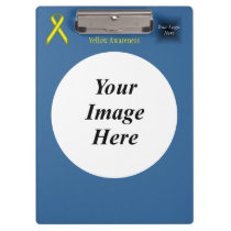 Yellow Standard Ribbon Template Clipboard