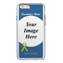 Yellow Standard Ribbon Template Incipio Feather Shine iPhone 6 Case