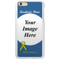 Yellow Standard Ribbon Template Incipio Feather Shine iPhone 6 Plus Case