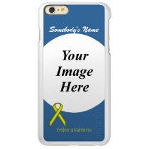 Yellow Standard Ribbon Template Incipio Feather Shine iPhone 6 Plus Case