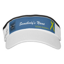 Yellow Standard Ribbon Template Visor
