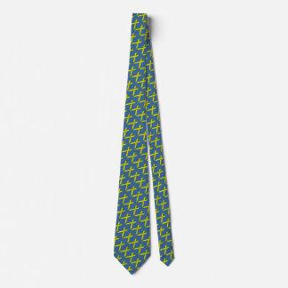 Yellow Standard Ribbon Tie