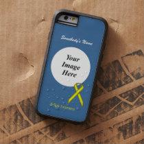 Yellow Standard Ribbon Tmpl by Kenneth Yoncich Tough Xtreme iPhone 6 Case
