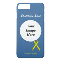 Yellow Standard Ribbon Tmpl by Kenneth Yoncich iPhone 8 Plus/7 Plus Case