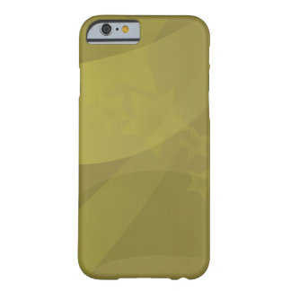 Yellow Star Abstract art iPhone case