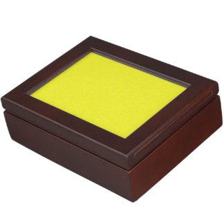 Yellow Star Dust Memory Box