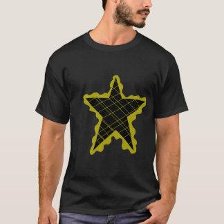 Yellow Star Flame T-Shirt