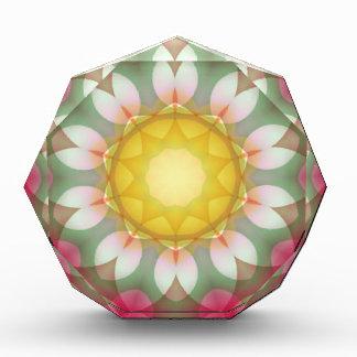 Yellow Star Flower Kaleidoscope Award