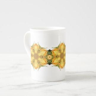 Yellow Star Flower Tea Cup