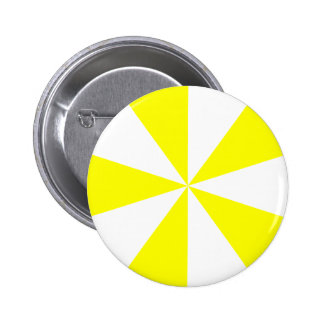 Yellow Starburst Pinback Button
