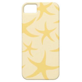 Yellow Starfish Pattern. iPhone 5 Covers