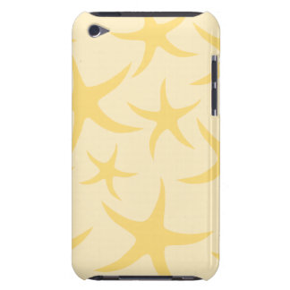 Yellow Starfish Pattern. iPod Touch Case-Mate Case