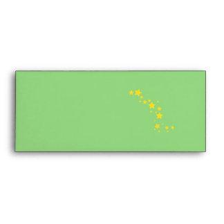 Yellow Stars Envelope