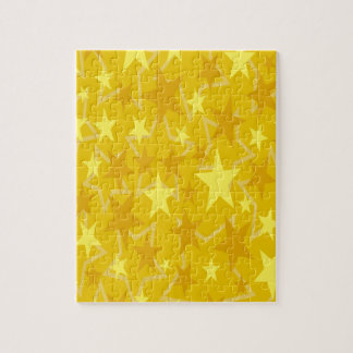 Yellow Stars Jigsaw Puzzle