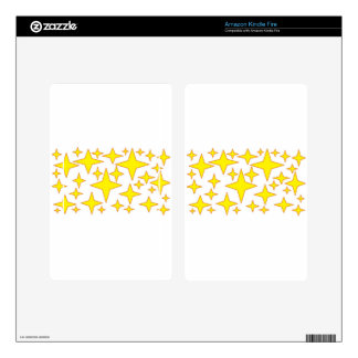 yellow stars.jpg kindle fire decals