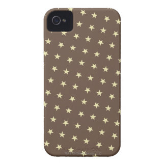 Yellow Stars Pattern Case-Mate iPhone 4 Case
