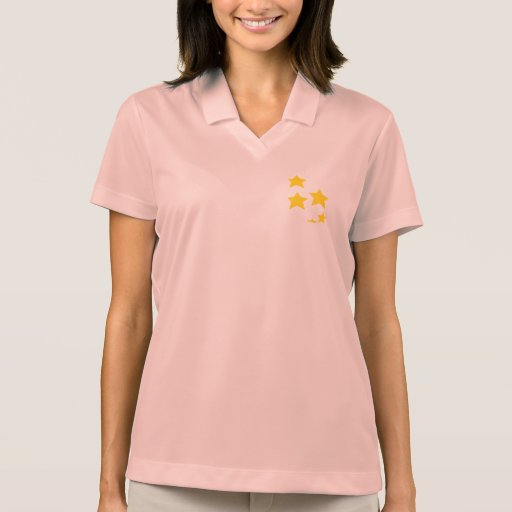 Yellow Stars Polo T-shirt
