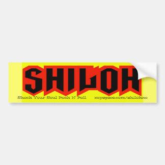 yellow sticker bumper sticker