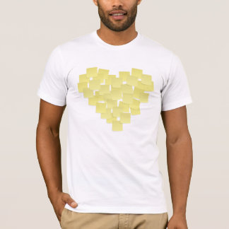 Yellow Sticky Notes T Shirt