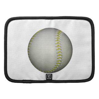 Yellow Stitches Baseball / Softball Folio Planners