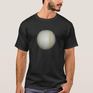 Yellow Stitches Baseball / Softball T-Shirt