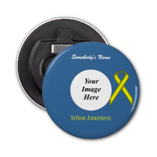 Yellow Stnd Ribbon Template Kenneth Yoncich Bottle Opener