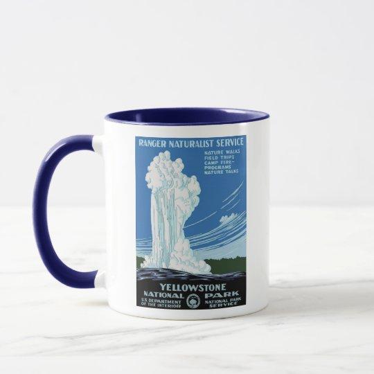 Yellow Stone Park - Old Faithful Geyser Mug