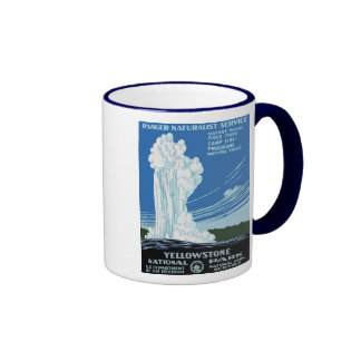 Yellow Stone Park - Old Faithful Geyser Coffee Mug