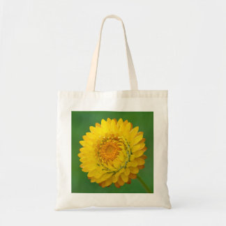 Yellow Strawflower Bag
