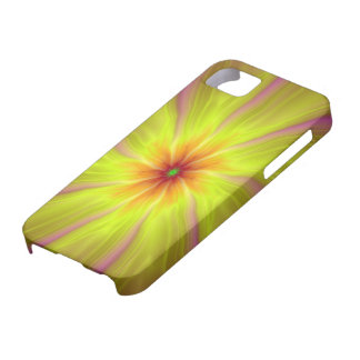 Yellow Streamers iPhone 5 Barely There Case iPhone 5 Case