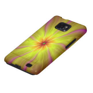 Yellow Streamers Samsung Galaxy S2 Samsung Galaxy S2 Cover