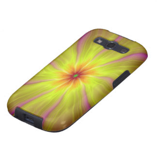 Yellow Streamers Samsung Galaxy S3 Samsung Galaxy SIII Covers