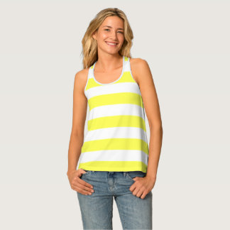 Yellow Stripe Tank Top