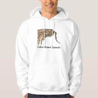 Yellow-Striped Ratsnake Basic Hooded Sweatshirt