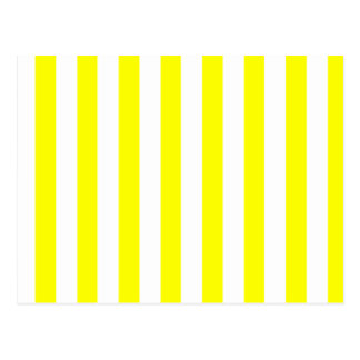 Yellow Stripes - Add 2nd Color Postcard