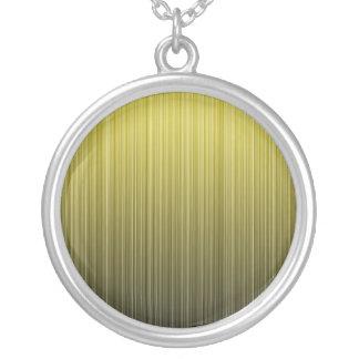 Yellow Stripes Custom Necklace