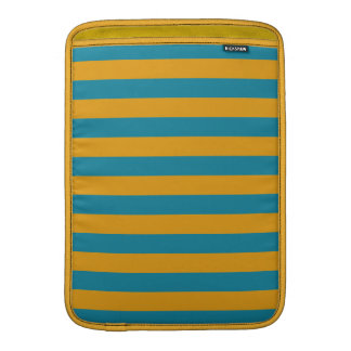 "Yellow Stripes On ANY Color 13"" MacBook sleeve"