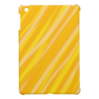Yellow stripes pattern | Abstract art iPad Mini Cover