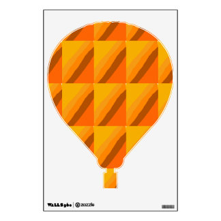 Yellow Stripes Room Graphics