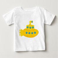 Yellow Submarine Baby T-Shirt