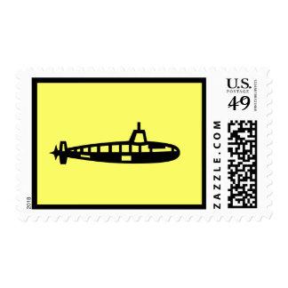 Yellow Submarine Postage Stamp