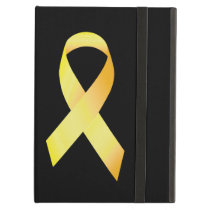 Yellow Suicide Prevention Ribbon Case For iPad Air