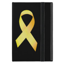 Yellow Suicide Prevention Ribbon Case For iPad Mini