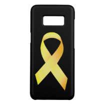 Yellow Suicide Prevention Ribbon Case-Mate Samsung Galaxy S8 Case