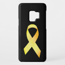 Yellow Suicide Prevention Ribbon Case-Mate Samsung Galaxy S9 Case