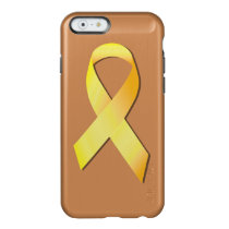 Yellow Suicide Prevention Ribbon Incipio Feather Shine iPhone 6 Case